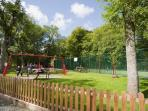 childrens play area white cross bay