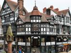 Chester Rows ideal shopping a short walk from the River House Chester