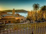 Enjoy views to Cap Ferrat