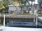 boat dock canal side