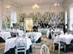 Mielcke & Hurtigkarl is a world class gourmet restaurant in Frederiksberg garden.