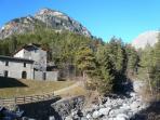 Le antiche fornaci a 200 mt dall'appartamento e a due passi dai Bagni di Bormio