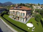 Villa dei Fiori - Luxury apt, Lake view and garden