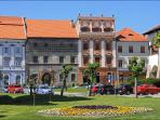 Situated in the very heart of the UNESCO world heritage site of Levoca.