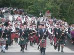 Highland games held in fall