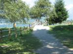 Colico - walking-cycling route