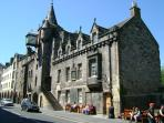Old Tolbooth Wynd from the Holyrood Palace direction