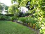 Garden view to west