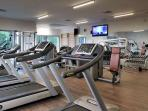The gym and fitness center - (Optional)