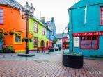 Cosmopolitan Kinsale with its history, marina and fantastic fish restaurants