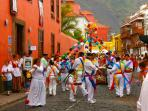 Join in the local fiestas in Garachico 7km away