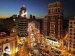 Gran Via, Madrid (80 mi)