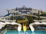 Splash and Fun water park only 15 min drive from the apartment