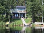 Kiuasniemi Villas are directly on Lake Päijänne...swimming is only 10meters away!