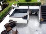 View of Jacuzzi on main patio