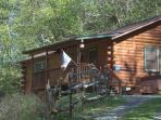 Elk Crossing- Log Cabin w/Hot Tub & View (Apr-Oct)