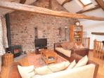 Relax with friends and family, enjoying fantastic views of the Fells in the lounge