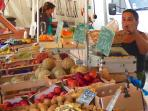 Fantastic Sunday market in the nearby Aulnay