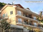 Each Bella Vista Apartment has a private terrace with full, unobstructed views of Lago Maggiore