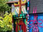 Artist House, Garden and underground, 25 rue de la Foulerie