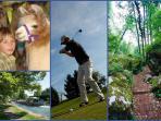 Jouer au golf? s'amuser avec les lamas? se promener?