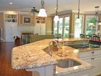 COMMUNITY POOL, GOLF, 2 LAKES, TENNIS, TRAILS. Bright, hardwood floors throughout, 3 sitting rooms.