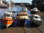 Mevagissey is a working fishing village that retains its distinct character