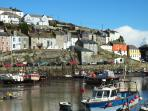 The colours of Mevagissey harbour
