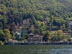 Majestic house on the Como's Lake