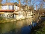 village house  river mill