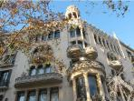 Passeig de Gràcia, only 5 minutes walking from apartment