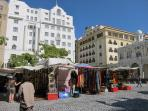 Greenmarket Square - 1 min walk from the apartment