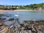Aberporth Beach just 5 mins away in the car