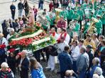 Procession de la vierge Santa Eufemea  le 16 septembre a Penedono