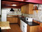 Casa Rural en Alcalá del Júcar, 'Río Tranquilo I' Cocina
