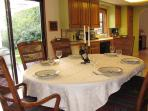 Family dinners are easy & fun at Patrick's Point Retreat!
