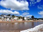 Saundersfoot's award winning beach