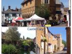 The local market village of Castle Cary.
