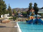 one of 3 waterparks on Crete
