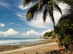 Pristine solitary beach