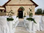 Aphrodite Hills wedding chapel