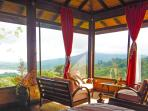 Birds View Room- view of the Arenal Volcano from your queen bed