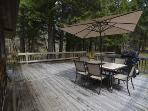 Rear Deck with BBQ and Patio