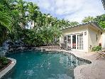 Heated tropical pool.  Perfect for all seasons!