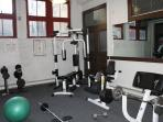 mini gym in builidng