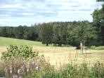Enjoy tranquil rural views from the longere