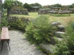 Private garden/patio area