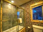 Full Master Bathroom, Private To The First Master Bedroom
