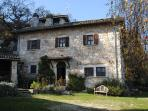 Il Roccolo Main house.