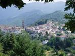 Nearby town of Coreglia Antelminelli